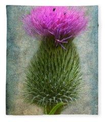 Scotch Thistle Fleece Blanket