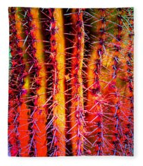 Scottsdale Saguaro Fleece Blanket