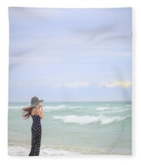 Sea Breeze Fleece Blanket