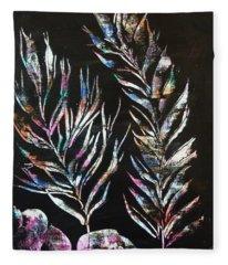 Sea Ferns Fleece Blanket
