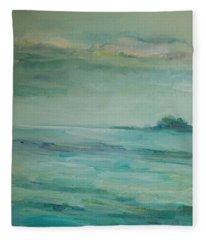 Sea Glass Fleece Blanket