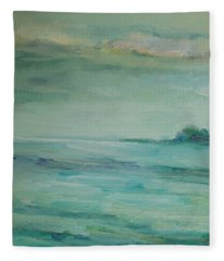 Sea Glass Fleece Blanket