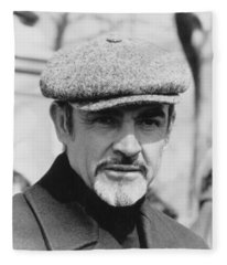 Sean Connery Fleece Blanket