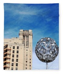 Sears Crosstown Memphis Fleece Blanket