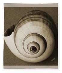 Seashells Spectacular No 25 Fleece Blanket
