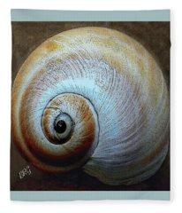 Seashells Spectacular No 36 Fleece Blanket