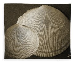 Seashells Spectacular No 8 Fleece Blanket