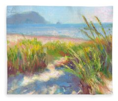Seaside Afternoon Fleece Blanket