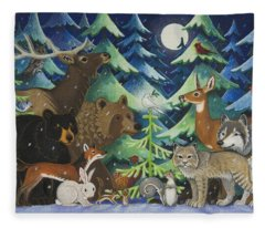 Spirit Of Peace Fleece Blanket