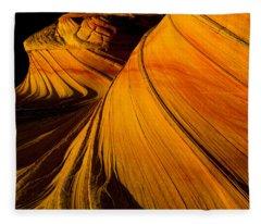 Second Wave Fleece Blanket