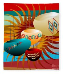 Sedona Still Life 2012 Fleece Blanket