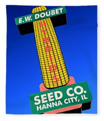 Seed Company Sign 1.4 Fleece Blanket