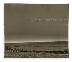 Seek And Find Fleece Blanket