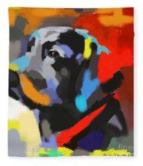Dog Sem Fleece Blanket