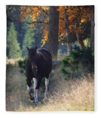 September Surrender Fleece Blanket
