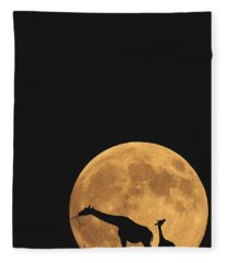 Serengeti Safari Fleece Blanket
