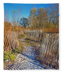 Serenity Trail.... Fleece Blanket