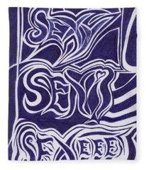 Sexy Sexi Sexeee Fleece Blanket