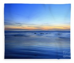 Rocks In Surf Canvas 30x40 Print On Sale Carlsbad Fleece Blanket