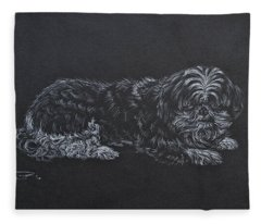 Shadow Fleece Blanket