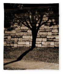 Shadow Tree Fleece Blanket