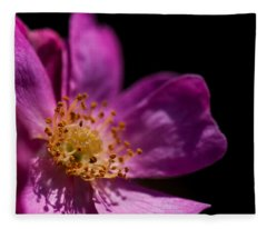 Shadows In My Heart Fleece Blanket