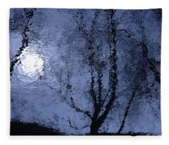 Shadows Of Reality  Fleece Blanket