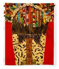 Shaka Zulu Fleece Blanket