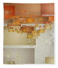 Shaken At Sunset Fleece Blanket
