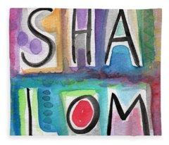 Shalom - Square Fleece Blanket