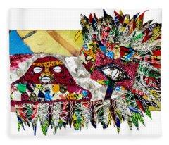 Shango Firebird Fleece Blanket