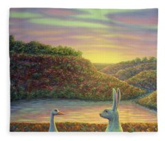 Sharing A Moment Fleece Blanket