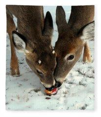 Sharing The Love Fleece Blanket