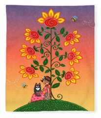 She Is Life Barnes And Noble Fleece Blanket
