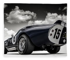 Sports Car Fleece Blankets