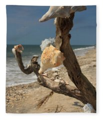 Shell Art Fleece Blanket