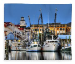 Shem Creek Fleece Blanket