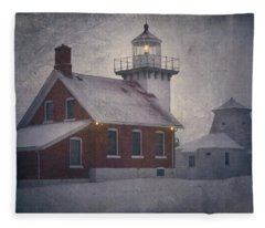 Sherwood Point Light Fleece Blanket