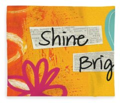 Shine Bright Fleece Blanket