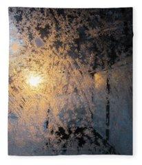Shines Through And Illuminates The Day Fleece Blanket
