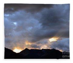 Shining Through Fleece Blanket