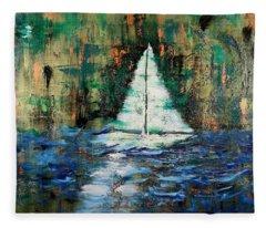 Shipwrecked Fleece Blanket