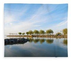 Shoreline Park Fleece Blanket