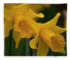 Shout Out Of Spring Fleece Blanket