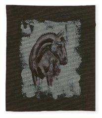 Show Horse Fleece Blanket
