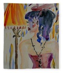 Showgirl Fleece Blanket