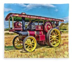 Showmans Engine Fleece Blanket