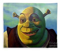Shrek Fleece Blanket