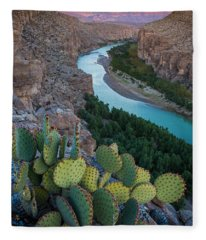 Sierra Del Carmen Fleece Blanket