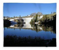 Sierra Reflection I Fleece Blanket